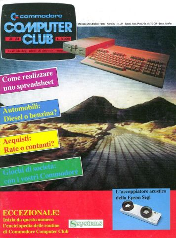 Commodore Computer Club 24