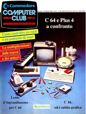 Commodore Computer Club 28